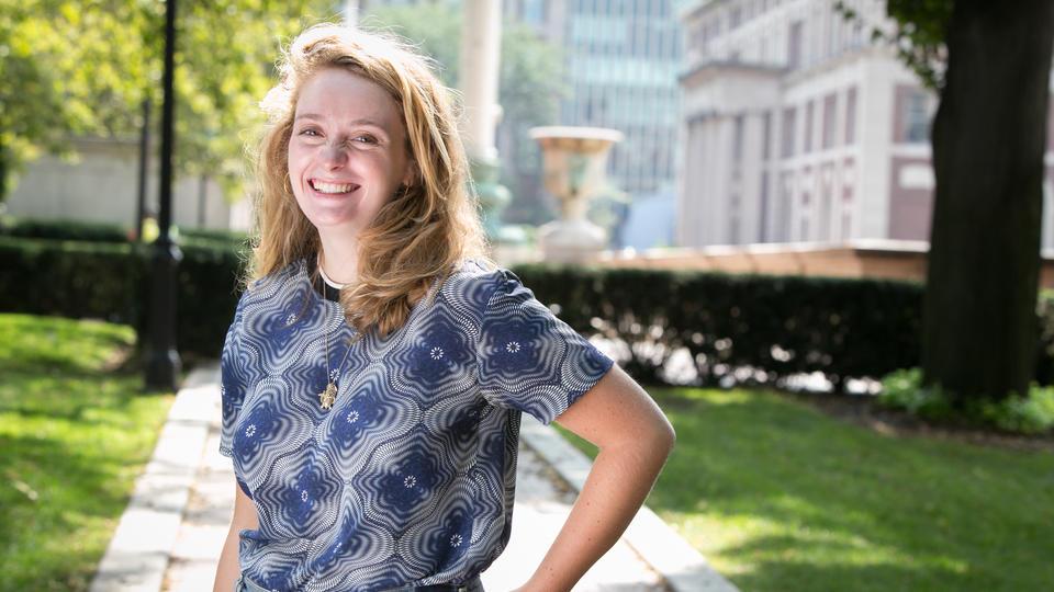 Madeline Morris: Preparing to Work for Stephen Colbert